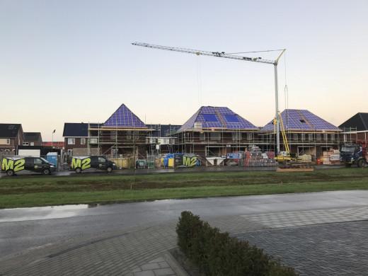 Nieuwbouw 5 woningen