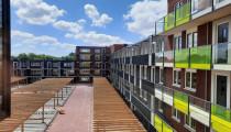 Nieuwbouw 59 appartementen, Dronten