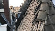 Dak renovatie/restauratie Herengracht