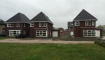 nieuwbouw 3 woningen