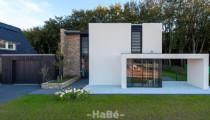 Kubistische woning met Natuurgevelsteen te Ede