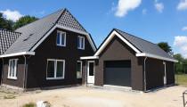 Vrijstaande woning met garage in Hierden