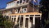 Verbouwing woning met aanbouw Amsterdam