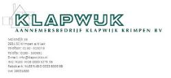 Aannemersbedrijf Klapwijk Krimpen B.V.